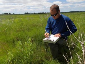 Kenny Smith of the Wetland Monitoring and Assessment Program