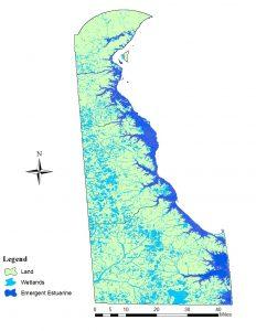 Delaware wetlands map
