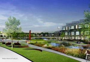 Concept drawing of Yorklyn Village