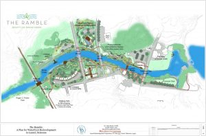 The Ramble Plan has driven efforts to redevelop Laurel's waterfront since its acceptance in 2013.
